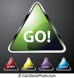 Alert Triangle Set