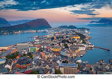 Alesund, Norway.