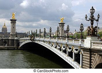 Alexandar III Bridge, Paris, France