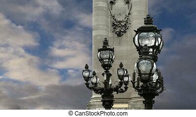 Alexander III bridge- Paris, France - The Alexander III ...