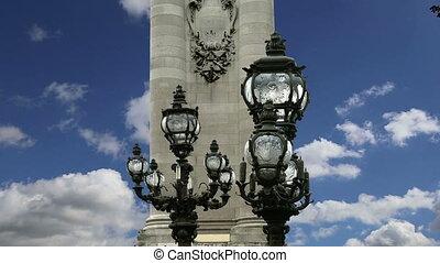 Alexander III bridge - Paris,France