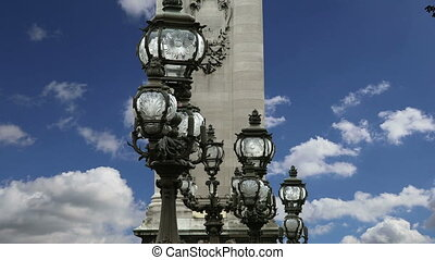 Alexander III bridge - Paris,France