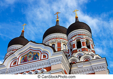 Alexander Nevsky Cathedral in Talllinn, Estonia