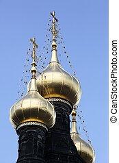 Alexander Nevsky russian orthodox church in Copenhagen, Denmark