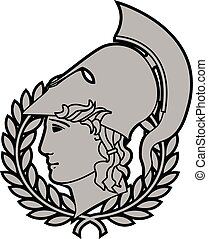 alexander the great. second variant. vector illustration