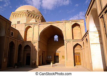 Building in the centre of Yazd, Iran