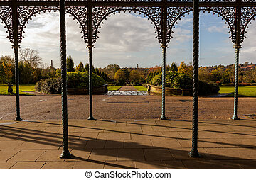 alexandra park oldham - View of Alexandra Park at Oldham,...