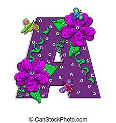 alfa, csüngés, szőlőtőke, egy