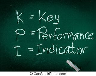 alfabet, achtergrond., betekenis, tafel, kpi, witte