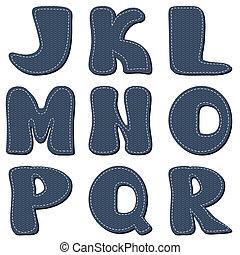 alfabet, album na wycinki, biały