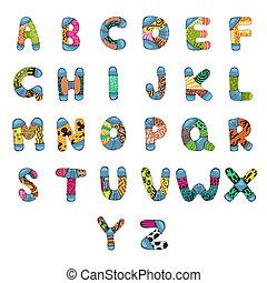 alfabet, alfabet