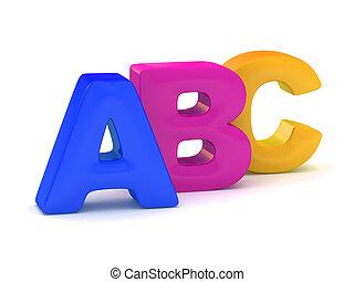 alfabet, alphabet.