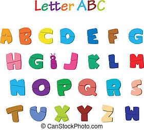 alfabet, beletrystyka