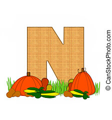 alfabet, gezegend, bounty, n