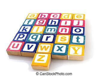 alfabet, leren