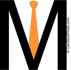 alfabet, m, logo