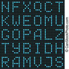 alfabet, seamless, achtergrond