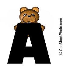 alfabet, teddy