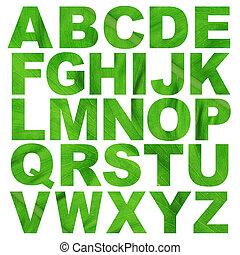 alfabet, z