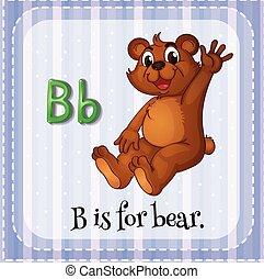 alfabeto, b