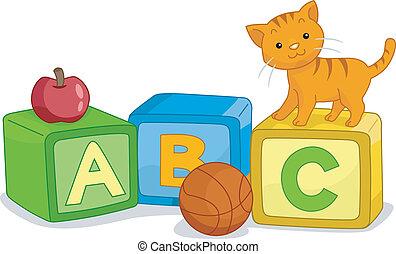 alfabeto blocca, cultura