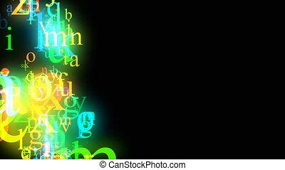alfabeto, cappio