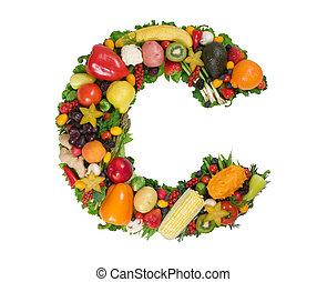 alfabeto, di, salute
