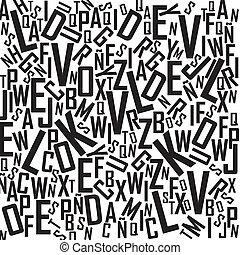 alfabeto, fundo