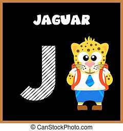 alfabeto, j, letra, inglês