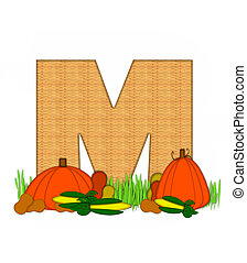 alfabeto, m, benedetto, generosità