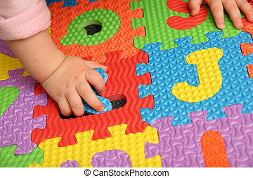alfabeto, puzzle
