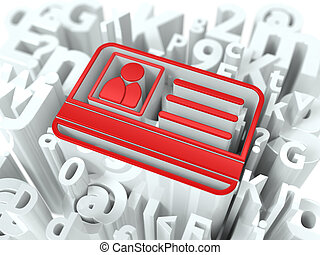 alfabeto, seguridad, concepto, internet, fondo.