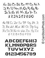 alfabeto, serie