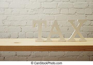 alfabeto, tempo, pagare, fondo, lettere, tassa, concetto, ...