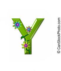 alfabeto, y, wonderland