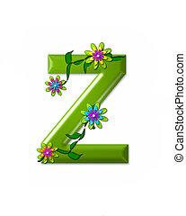 alfabeto, z, wonderland