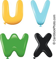 alfabetos, cores