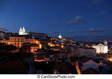 alfama, portugal, lissabon