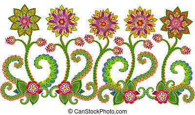 Floral mosaico concierto l modernista 1905 1908 - Alfombras persas barcelona ...