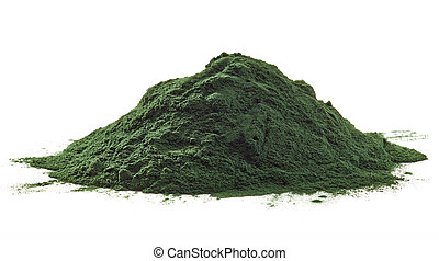 alga, spirulina, por
