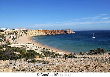 algarve , θεαματικός , sagres , ακτογραμμή , πορτογαλία