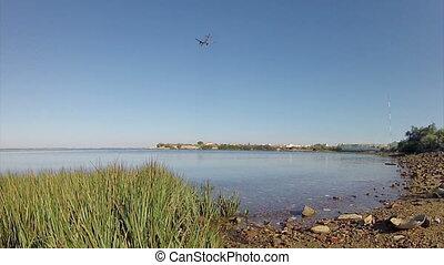Algarve -Airplane Landing in Faro B