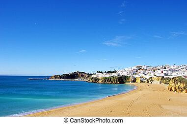 algarve, albufeira, região, portugal