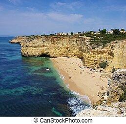 Algarve beach Vale de Centeanes