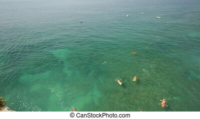 Algarve boat tour and kayaking - Aerial view from promontory...
