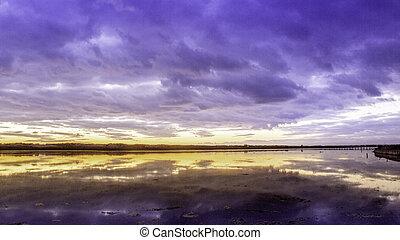 algarve , cloudscape , timelapse , ηλιοβασίλεμα