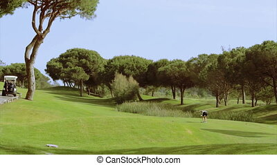 Algarve Golf Tee Shot B