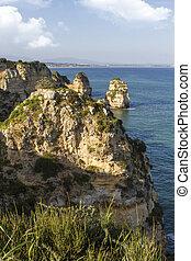 algarve , lagos , ακτογραμμή , πορτογαλία