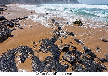 Algarve region beach, Portugal