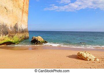 Algarve region - Benagil Beach